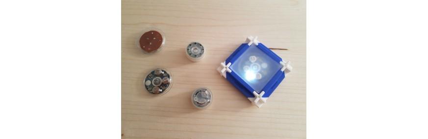 SEVA světelné a zvukové moduly