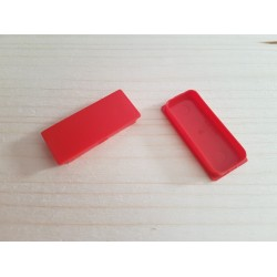 SEVA výplň obdélník 24/43 - barva sytě červená