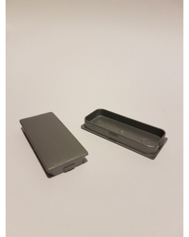 SEVA výplň obdélník 24/43 - barva šedá