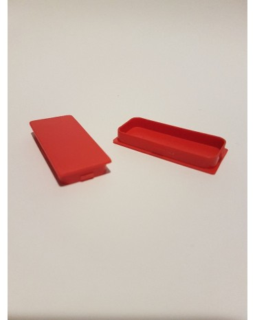 SEVA výplň obdélník 24/43 - barva signální červená