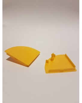 SEVA výplň čtvrtkruh 43 - barva žlutá