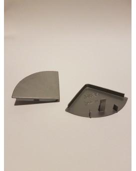 SEVA výplň čtvrtkruh 43 - barva šedá