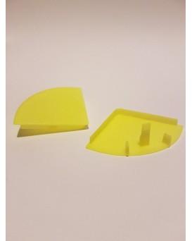 SEVA výplň čtvrtkruh 43 - barva signální žlutá