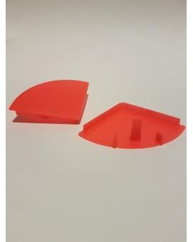 SEVA výplň čtvrtkruh 43 - barva signální červená