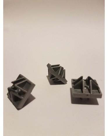 SEVA mini díl - barva šedá