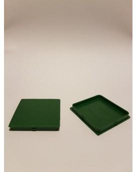 SEVA výplň čtverec 43 / 43 - barva tmavě zelená ARMY