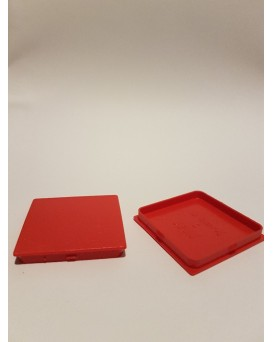 SEVA výplň čtverec 43 / 43 - barva tmavě červená