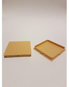 SEVA výplň čtverec 43 / 43 - barva světle hnědá (TAN)