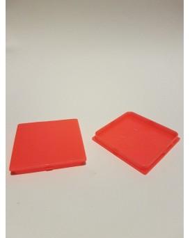 SEVA výplň čtverec 43 / 43 - barva signální červená