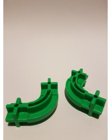 Konstrukční dílek oblouk 24 - barva zelená
