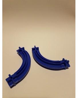 Konstrukční díl oblouk 43 - barva modrá