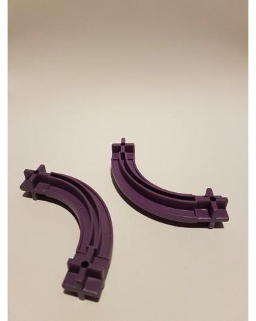 Konstrukční díl oblouk 43 - barva fialová
