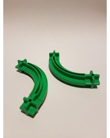 Konstrukční díl oblouk 43 - barva zelená