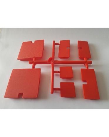 SEVA SPECIAL MIX výplní - barva červená