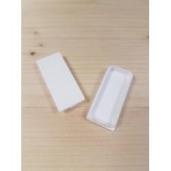SEVA výplň obdélník 24/43 - barva bílá