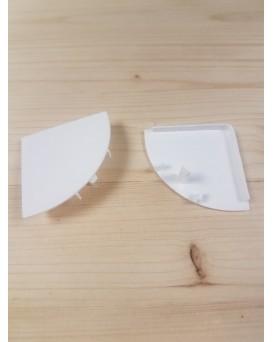 SEVA výplň čtvrtkruh 43 - barva bílá