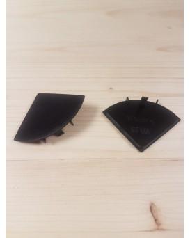 SEVA výplň čtvrtkruh 43 - barva černá