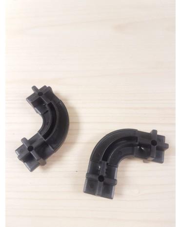 Konstrukční dílek oblouk 24 - barva černá