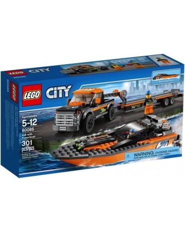 * LEGO® City 60085 - Motorový člun 4x4