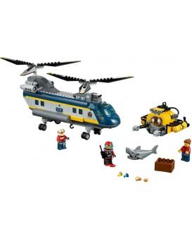* Lego City 60093 Vrtulník pro hlubinný mořský výzkum - POLYBAG
