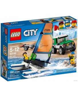 MISB - LEGO City 60149 4x4 s katamaránem