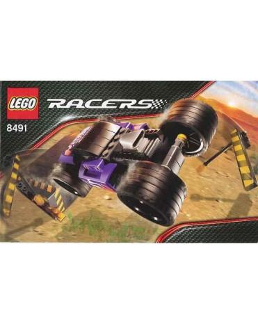 *** Lego Racers 8491 Neohrožený bourák