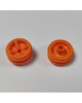 SEVA disk kola 46 mm oranžový