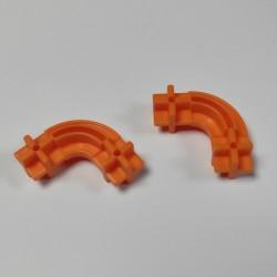 Konstrukční dílek oblouk 24 - barva oranžová