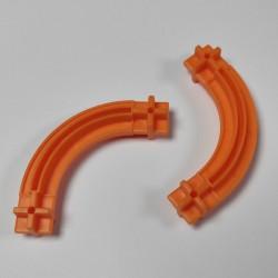 Konstrukční díl oblouk 43 - barva oranžová